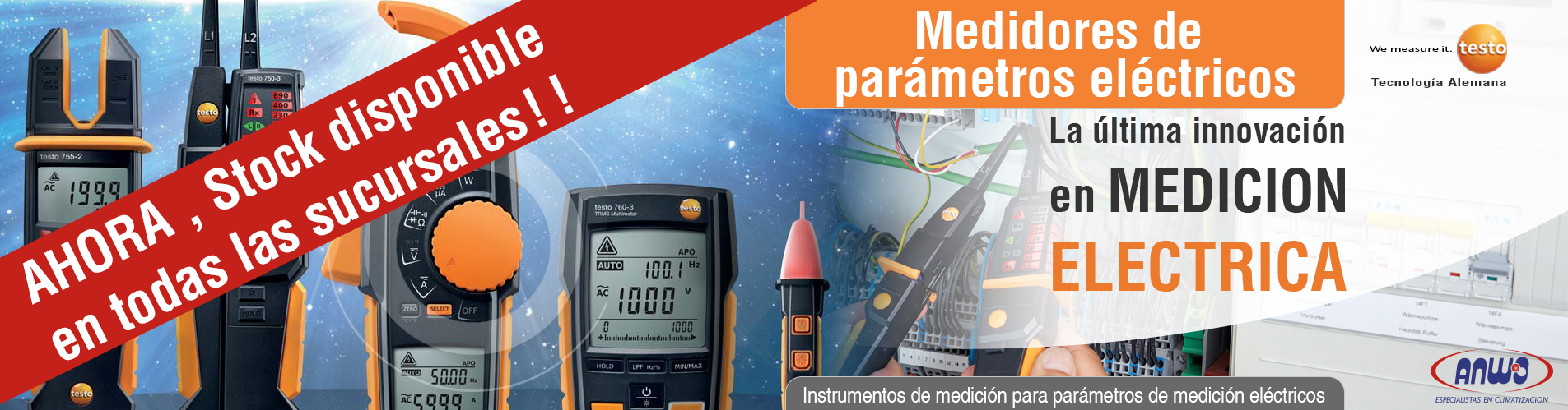 La última innovación en medición eléctrica