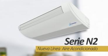 Nueva Línea  Aire Acondicionado Light Comercial de Anwo Serie N2.