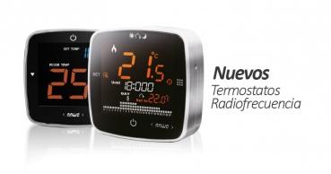 Nuevos Termostatos con Radiofrecuencia