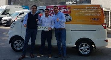 Felicitamos al Ganador de la Camioneta Cero Kms!