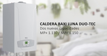 Nuevas capacidades para las Calderas Baxi Luna DUO TEC MP+