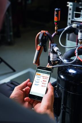 TESTO 115i - Termómetro de pinzas para smartphone