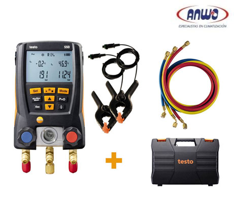 TESTO 550 SET - MANIFOLD DIGITAL